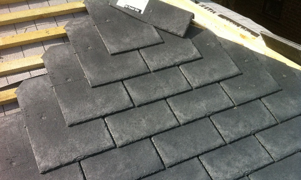 Slate 23 tapco roofing products for Roofing product