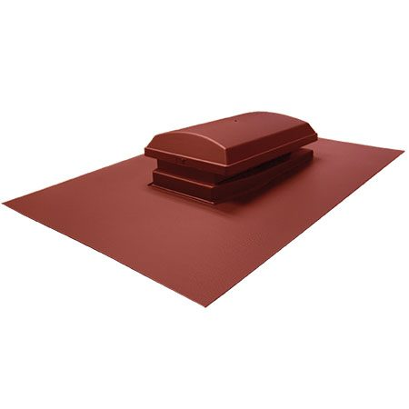 Cowl Vent 709 Brick Red