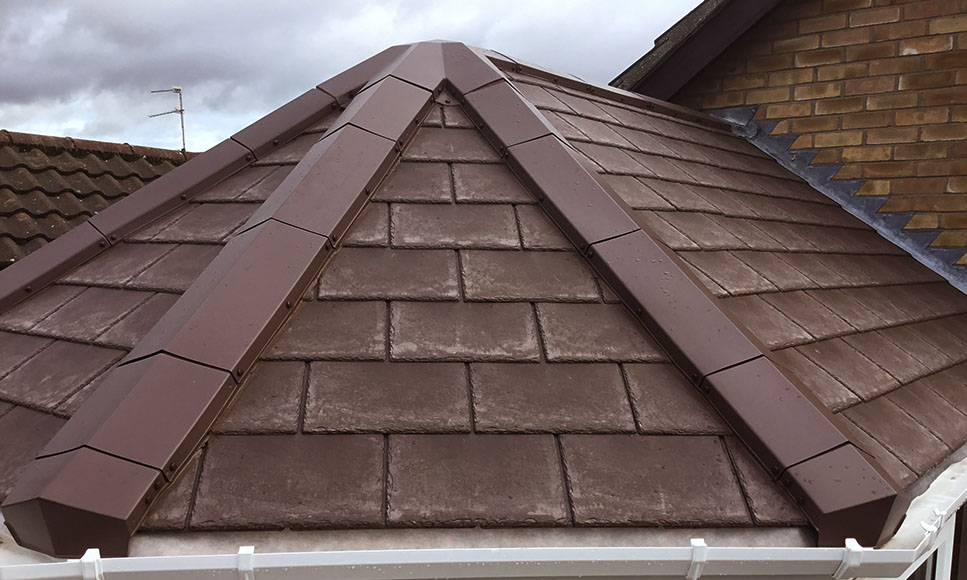 Edwardian Conservatory Hip To Ridge Tapco Roofing Products